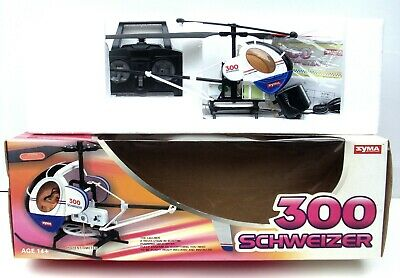 £9.99 • Buy Syma Schweizer 300 RC Helicopter 60 Cm Long, 49.5 Cm Main Rotor, 40 MHz