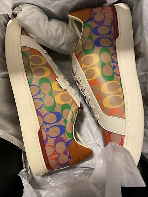 $299.99 • Buy Coach Rainbow Pride Shoes. Size 12 Men's Brand New In Box