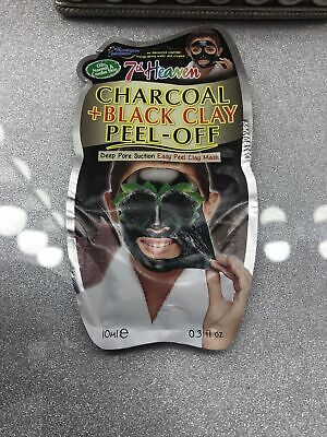 £0.99 • Buy Charcoal And Black Clay Peel Off Mask
