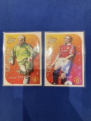 £2.95 • Buy Futera Fans Selection Embossed 1999- Keane & Schmeichel Manchester United