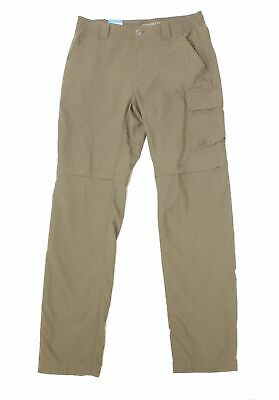 $22.50 • Buy Columbia Mens Pants Beige Size 40X30 Smith Creek Convertible Stretch $75 #020