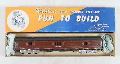 $26.32 • Buy Walthers HO Scale Kit-Built Pennsylvania REA Mail/Baggage Car