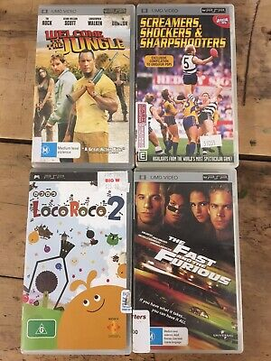£8.90 • Buy PSP Bundle. Games-LocoRoco2. Movies- The Fast And Furious, Welcome To The Jungle