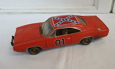 £64 • Buy ERTL RC2 The Dukes Of Hazzard General Lee 1:18 Die Cast Car 1969 Dodge Charger