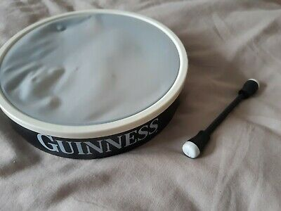 £6.99 • Buy Guinness Budhran Hand Drum And Stick Promotional Very Rare Used