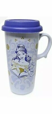 £8.99 • Buy Disney Store Beauty And The Beast Travel Mug New Cup Belle Princess Coffee Lid