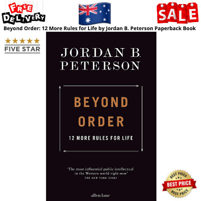 AU23.99 • Buy Beyond Order: 12 More Rules For Life By Jordan B. Peterson | Paperback Book NEW