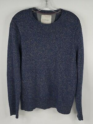 $19.99 • Buy Banana Republic Heritage Collection Wool/cashmere Gray/blue Sweater Size Large