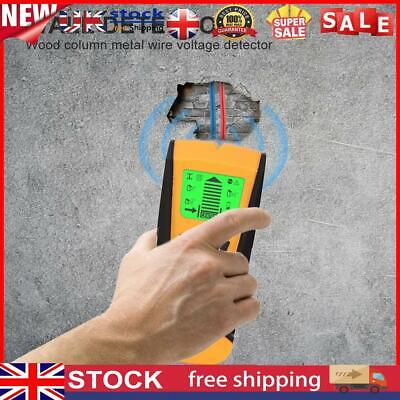 £2.69 • Buy Wall Wood Stud Detector Finder Scanner Metal Live Wire Cable Pipe LCD 3 In 1