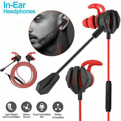 $ CDN11.52 • Buy Gaming Headphones Wired In-Ear Earphone E-Sport Earbuds With Mic For PS4 Laptop