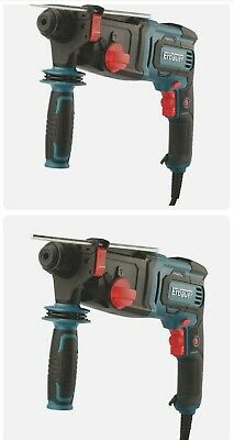 View Details Erbauer Corded Electric SDS Plus Hammer Drill Brushed ERH750 750W 220-240V.  • 50.00£