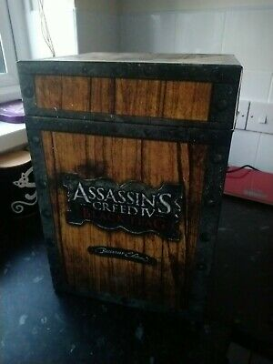 £10 • Buy Assassins Creed Black Flag Buccaneer Edition Box ONLY No Content Very Cool