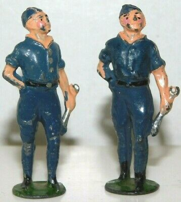 £10.78 • Buy Old JOHILLCO England Lead 1950s, Royal Air Force Mechanics With Wrenches, 2 Pcs.