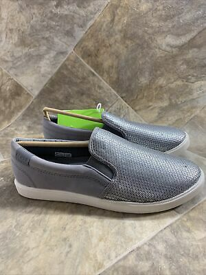$28 • Buy NEW Women's Crocs Citilane Silver Grey Sequin Slip On Loafers, US Size 8