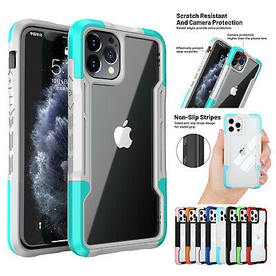 AU7.19 • Buy Hybrid Clear Bumper 3in1 Case For Apple IPhone 11 12 Pro Max XS XR 8 7Plus Cover