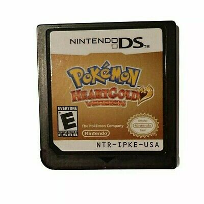 $160 • Buy Pokemon Heartgold Version Nintendo DS 2010 Authentic & Tested Game Only