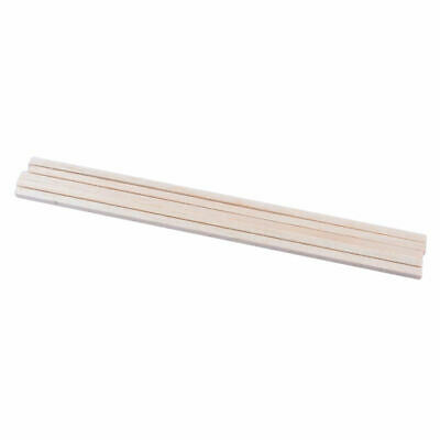 £4.11 • Buy 10pcs Wooden Round Material Round Rods Rod Set For Architecture Model Making
