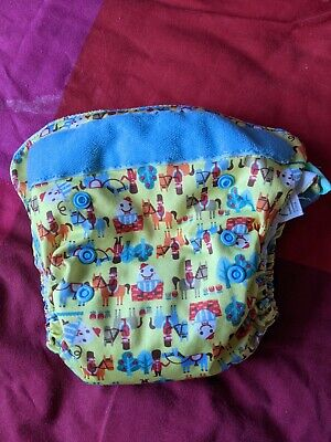 View Details Tota Bots Easy Fit Humpty Dumpty Cloth Real Nappy Diaper • 5.00£