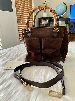 AU450 • Buy Authentic GUCCI Bamboo Sling Bag