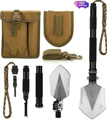 $37.99 • Buy FiveJoy Military Folding Shovel Multitool (C1) - Tactical Entrenching Tool