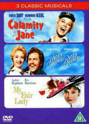 £3.95 • Buy Calamity Jane / My Fair Lady / Seven Brides For Seven Brothers