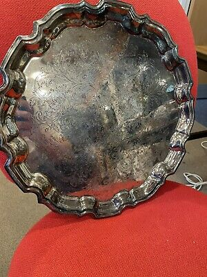 £10 • Buy Cavalier Silver Plated Large Tray / Platter