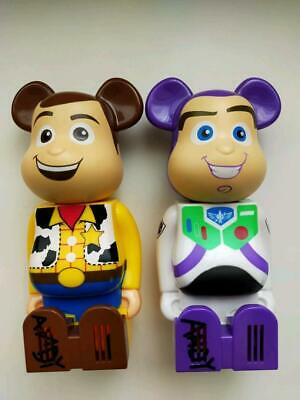 $99.15 • Buy Cleverlin Bearbrick Toy Story Buzz And Woody Case
