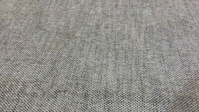 £4.99 • Buy 2 Metres Grey & White Embroidered Weave Curtain Upholstery Fabric