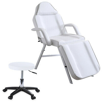 £72 • Buy Adjust Massage Couch Bed Chair & Stool Beauty Salon Table Tattoo Facial Therapy