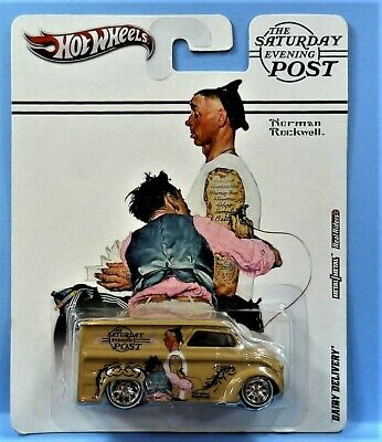 $14.98 • Buy Hot Wheels Dairy Delivery The Saturday Evening Post Metal/metal Rr S&hbox 1/64