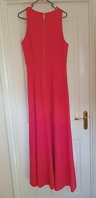 £40 • Buy Ted Baker Women's Maxi Two Colour Tone Dress Size 4 (UK14)
