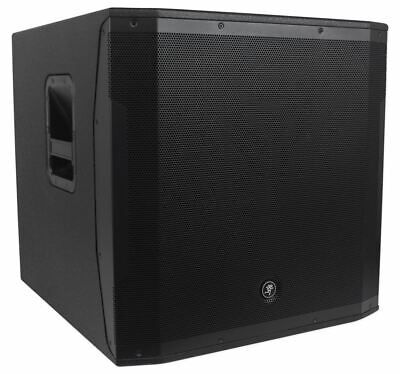 $899 • Buy Mackie SRM1850 1600W 18  Powered Active Pro Subwoofer Sub With Smart Protect DSP