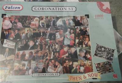 £7.95 • Buy CG433. 1000 Piece Double-sided Jigsaw Puzzle. Coronation Street. Then And Now.