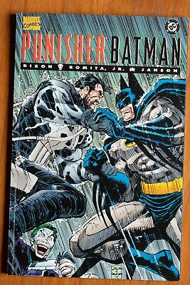 £0.71 • Buy Punisher / Batman : Deadly Knights Marvel / DC Crossover 1994 1st Printing TPB