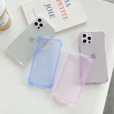 AU6.48 • Buy For IPhone Case 6 7 8 X XR 11 12 Pro Bumper Shockproof Silicone Protective Cover