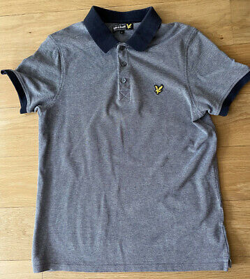 £2.50 • Buy Lyle And Scott Mans Polo Shirt Large