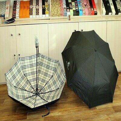 £122.35 • Buy Umbrella Burberry Protection From Rain And Wind Brand Fashionable Stylish