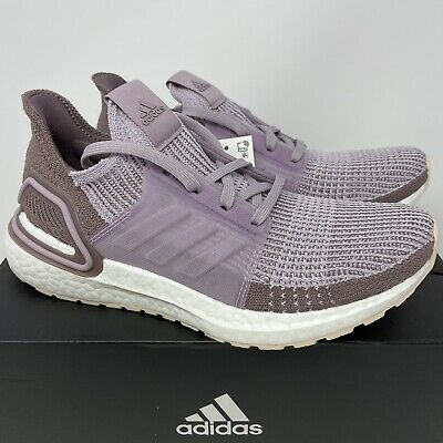 $ CDN224.70 • Buy Adidas Ultraboost 19 Women's 10 Purple Lavender Taupe White Running Shoes New