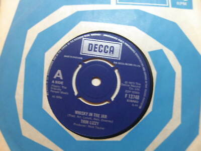 """£3.50 • Buy Thin Lizzy – Whisky In The Jar 1978 7"""" Decca F 13748"""