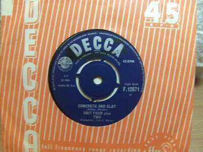 """£3.50 • Buy Unit Four Plus Two – Concrete And Clay 1965 7"""" Decca F 12071"""