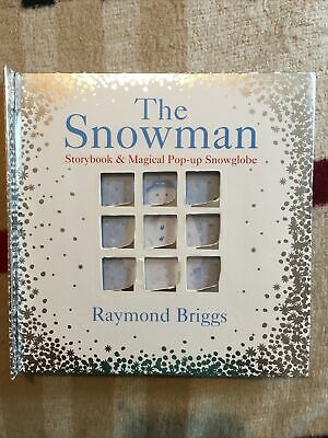 £5 • Buy The Snowman Storybook & Magical Pop-up Snowglobe By Raymond Briggs...