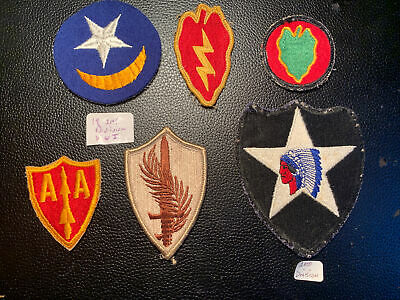 $25 • Buy Vintage Military Patch Lot