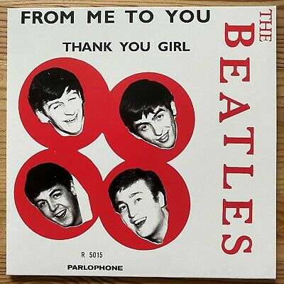 £8.52 • Buy BEATLES - From Me To You, Parlophone Norwegen, Rare 2019 Neuauflage Single, Mint