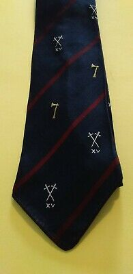 £3.99 • Buy Duke Of Wellington Regiment Rugby XV Rugby  Tie V.G.C Pre Owned