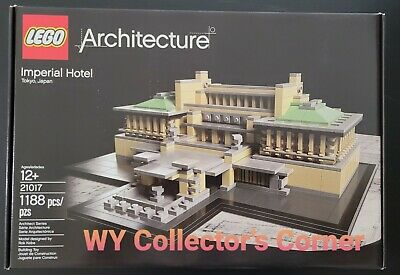 £134.85 • Buy Retired LEGO Architecture Set 21017 Imperial Hotel New & Factory Seal!