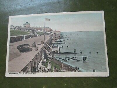 £2.99 • Buy Postcard Of Promenade, East Cliff, Herne Bay (1946 Posted)