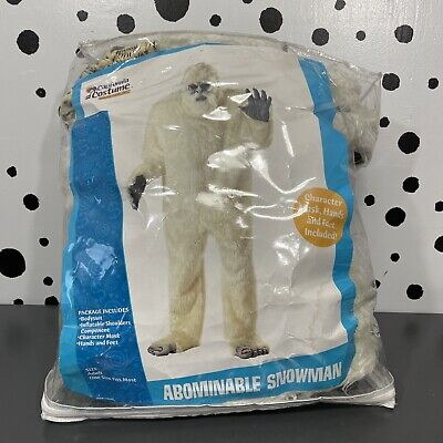$49.99 • Buy Abominable Snowman Yeti Adult Costume One Size