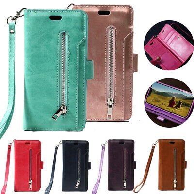 AU17.49 • Buy For Samsung Galaxy S21 S20 S10 S9 S8 S7 S6 Case Leather Wallet Flip Stand Cover