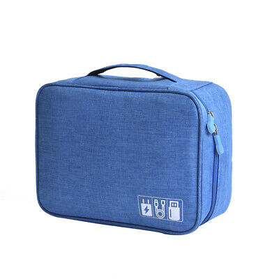 AU14.14 • Buy Electronic Accessories USB Cable Drive Organizer Bag Portable Travel Carry Bags