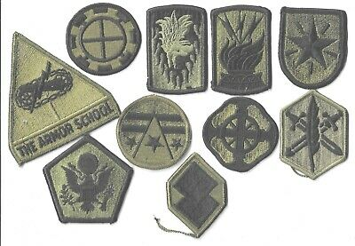 $7 • Buy Lot Of 10 Different U.s. Military Patches  (mp 4561)